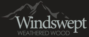 Weathered wood barn siding