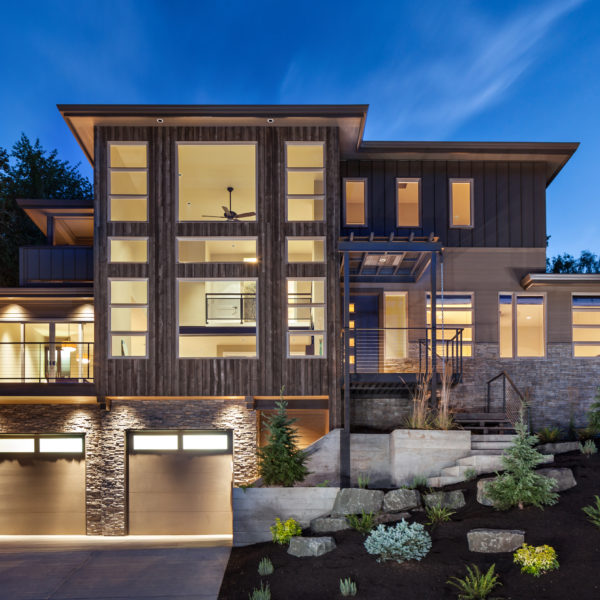 Modern Home In Eugene Oregon By Jordan Iverson Signature: Harvest Timber Specialty Products