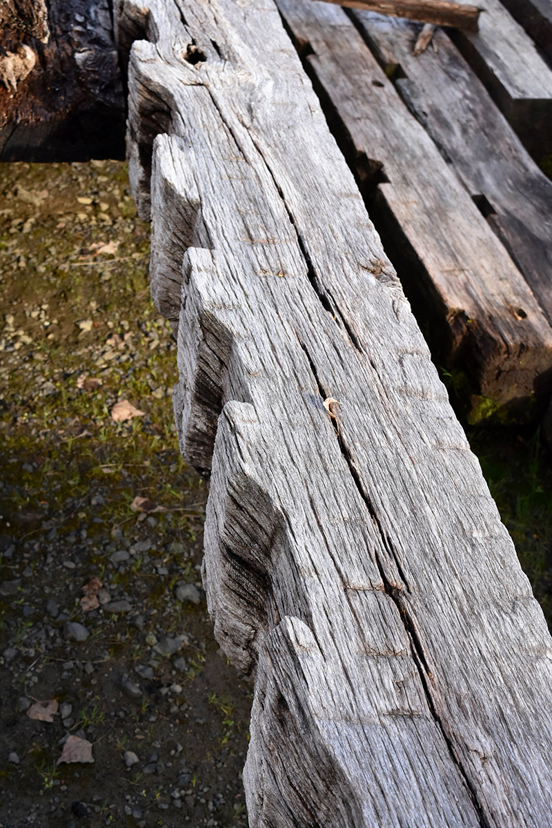Reclaimed Timbers Beams Hand Hewn Weathered Aged Band Sawn