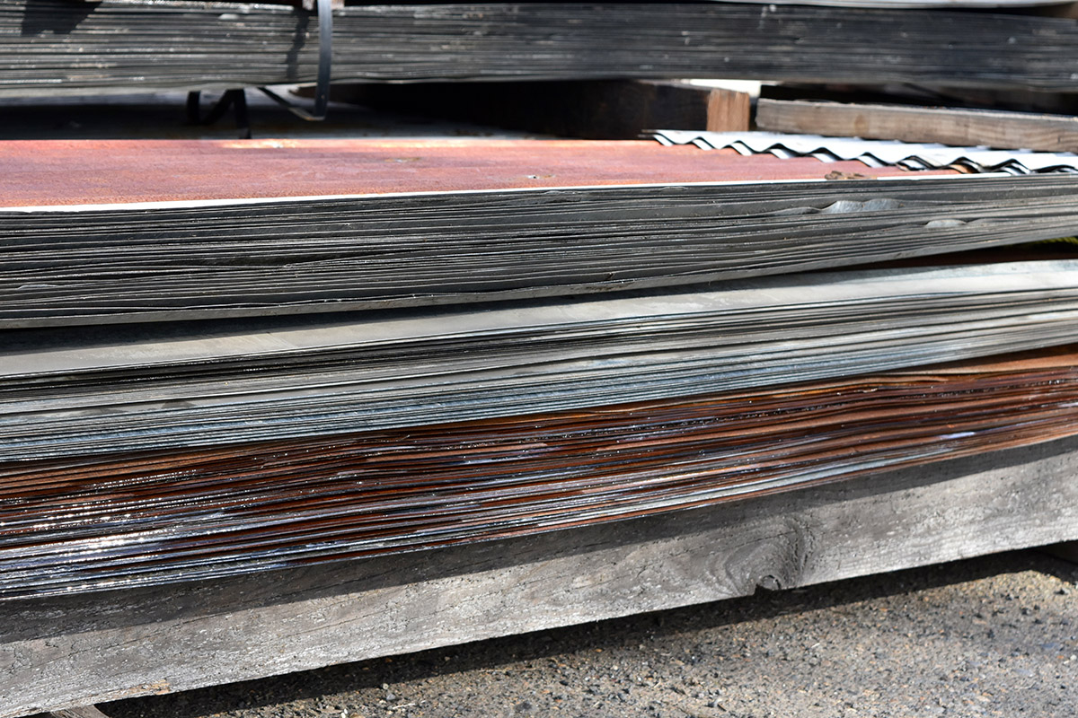 Steel Siding Recycled Materials : Metal roofing harvest timber specialty products